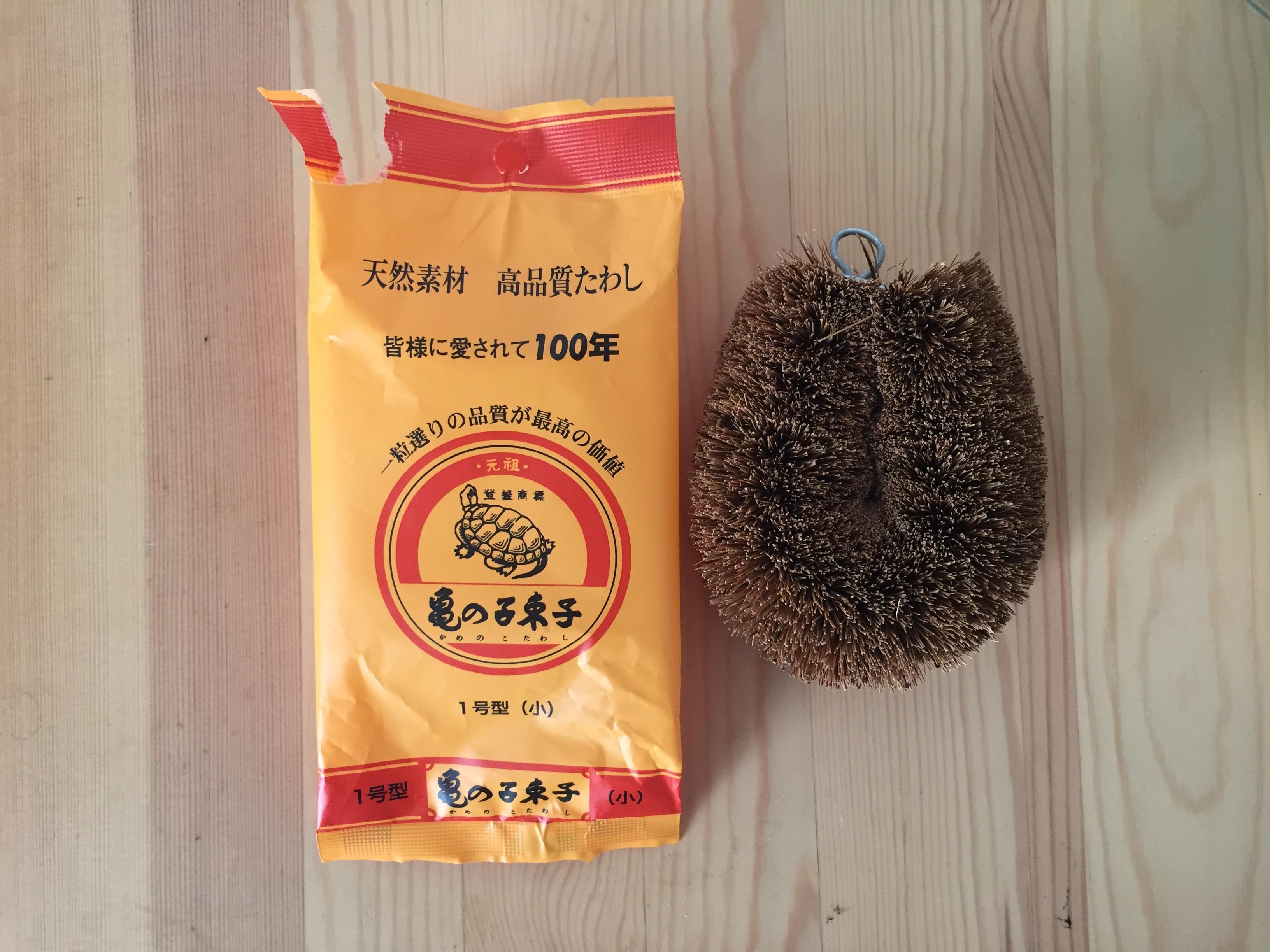 ... Kamenoko Tawashi Scrubber - rikumo japan made ...