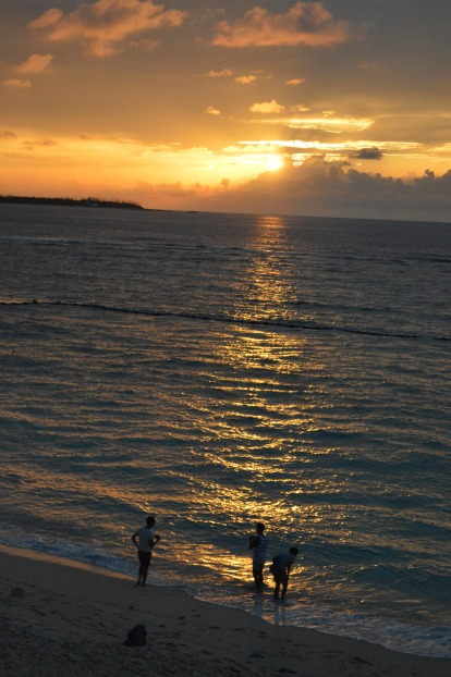Sunset -Sesoko Beach